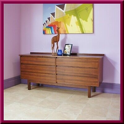 Retro MODERNTONE Chest of Drawers / Dressing Table / TV Stand ◆ Mid Century ◆70s