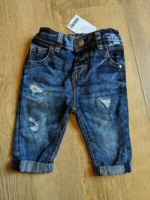 Next Baby Boys distressed Jeans Age 3-6 Months Brand New with tags
