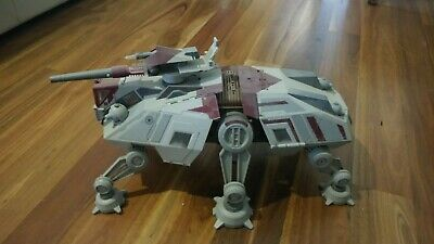 Large Star Wars Attack of the Clones AT-TE-All Terrain Tactical Enforcer 2008