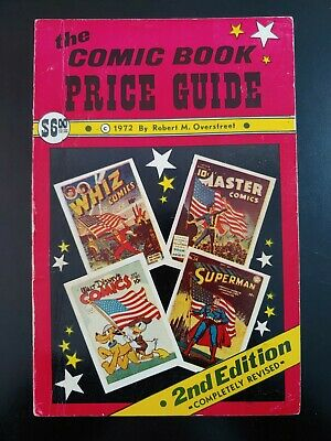 (3) OVERSTREET Comic Book PRICE Guide 1972, #2, 2nd Edition FN Book