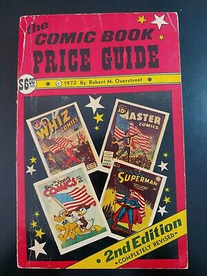 (2) OVERSTREET Comic Book PRICE Guide 1972, #2, 2nd Edition GD Book