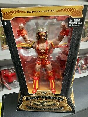 ultimate warrior defining moments elite ultimate maniacs wwe