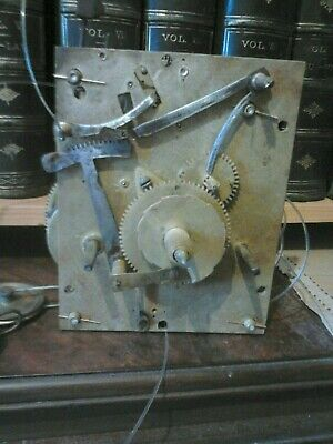Grand father long case clock movement 8 day