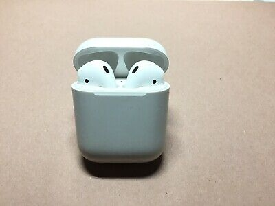 Apple AirPods 2 - 2nd Generation with Charging Case - White A2031