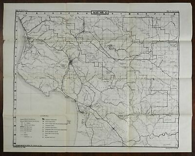 Arroyo Grande Valley California 1945-50 U.S. Geological Survey detailed map