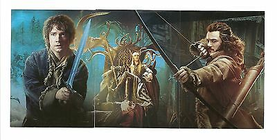2015 Cryptozoic The Hobbit Desolation of Smaug Collage Chase Set CP1 - CP3