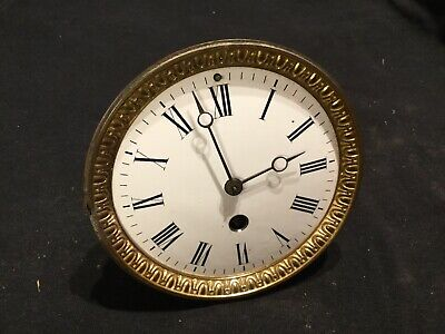 Antique French Clock Without Glass For Restoration