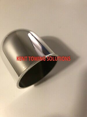 NEW CHROME TOW BAR BALL COVER PLASTIC CAP CAR TOWING HITCH TOWBALL 50MM Maypole