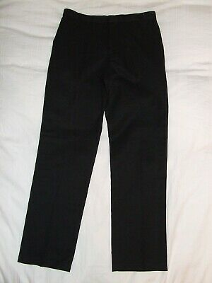Girls George black school trousers New without tags age 11-12 years
