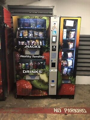 Vending Route With Vending Machine