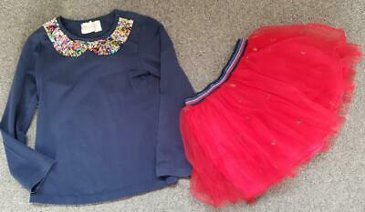 Gorgeous Mim Pi Designer Girls 2 Piece Outfit, Skirt/Top  6 Years, 116Cm