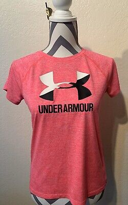 UNDER ARMOUR Dri-Fit Short Sleeve Athletic Shirt - Size Youth XL