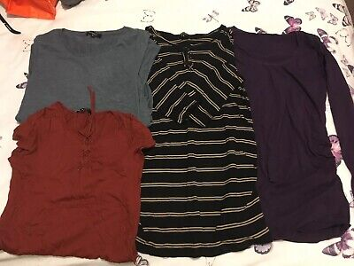 Bundle New Look Maternity Tops Size 10