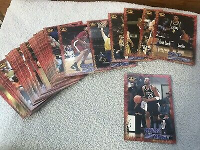 1996 Pacific Collection Basketball  54 Card Set  Kobe Bryant RC