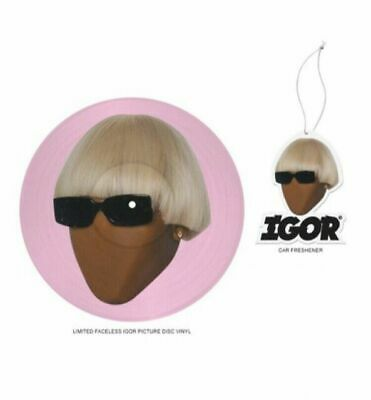 Tyler the Creator - IGOR Limited Edition Vinyl Picture Disc w/ air freshener