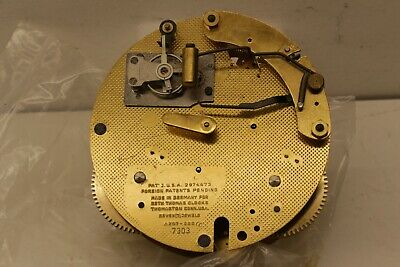 Seth Thomas A207-000 Ships Bell Strike 7 Jewel Clock Movement by Hermle 132-071