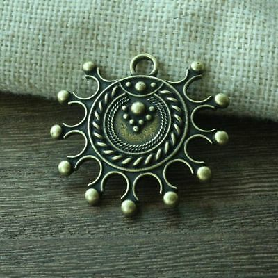 Viking Sun Symbol Pendant Idol Ancient Replica Pagan Devana Solar Necklace