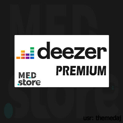 Deezer Premium ACCOUNT ✅ 3 Months ✅ FAST SHIPPING WORLDWIDE 🔥