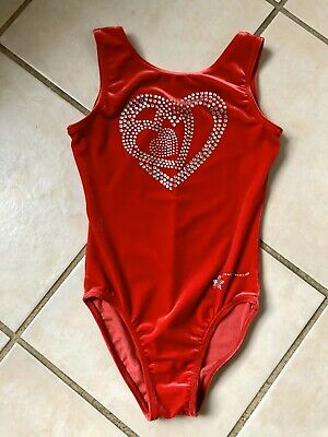 NWTS DESTIRA CHILDS LARGE 10-12 DOUBLE SP STRAP LEOTARD VERY NICE NEW PRICE