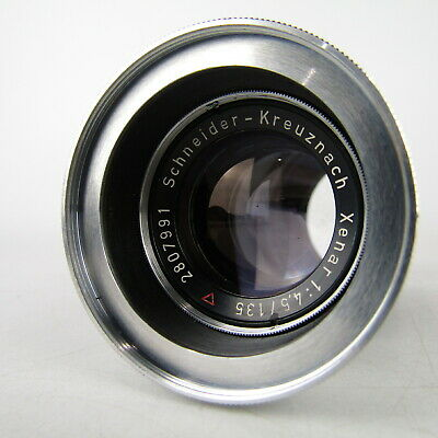 【Rare!!】Schneider-Kreuznach Xenar f/1:4.5 135mm Lens *As Is* From Japan #020