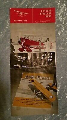 """1956, Antique Airplane News (2), vol III, No. 7 & 8, """"Keep the Antiques Flying"""""""