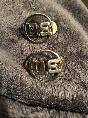 US Air Force Collar Lapel Pins From 1950's