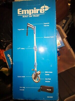 Empire 150mm Measuring Wheel Folding With Carry Bag BRAND NEW