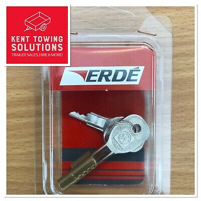 INSERTABLE AV001 TRAILER COUPLING LOCK FOR ALL ERDE UNBRAKED TRAILERS - Security