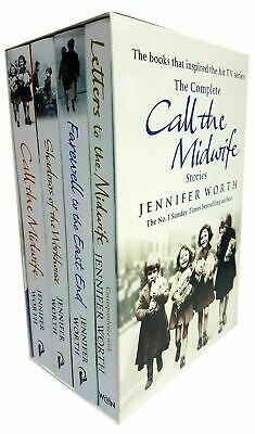 Jennifer Worth The Complete Call The Midwife Stories 4 Books Collection Set Pack