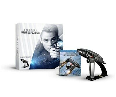 Star Trek Into Darkness With Replica Starfleet Phaser Limited Edition Box Set