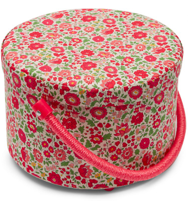 NEW LIBERTY Of London Sewing Box With Tray Danjo Floral Print Sold Out