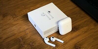 Apple AirPods 2nd Generation Wireless Charging Case Clone High Quality - White