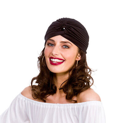 Arabian Aladdin Arabian Turban Gypsy Fortune Teller Feather Plume Costume Hat