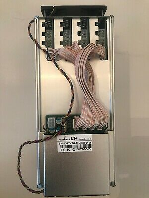 Bitmain Antminer L3+ 504MH/s ASIC Cryptocurrency miner Litecoin Bitcoin