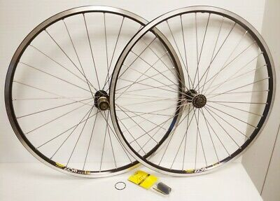 "SUPERLIGHT VINTAGE MTB WHEELS 26"" Shimano 8/9/10/11S Comp MAVIC XC717- TTP HUBS"