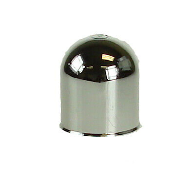 New Chromed Towball Plastic Cover Cap Car Towing Hitch Tow Ball 50MM Maypole