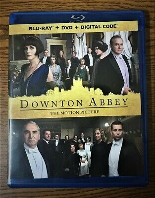 Downton Abby The Motion Picture BLURAY ONLY+CASE + ARTWORK+SLIPCOVER (NO DVD OR
