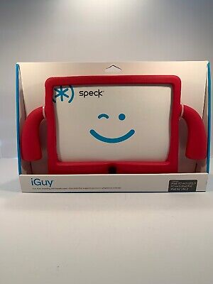 Speck iGuy 9.7 inch iPad Pro Case with Handles for Kids Red Brand New!
