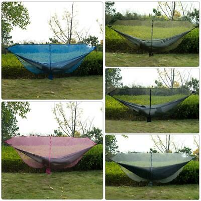 Portable Outdoor Camping Hiking Mosquito Net for Double Hammock Hanging Bed US