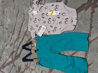 New Boys 6-9 Month Lot Of 2 Clothes