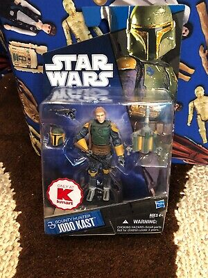 Hasbro Star Wars Kmart 2010 Exclusive Bounty Hunter Jodo Kast Action Figure