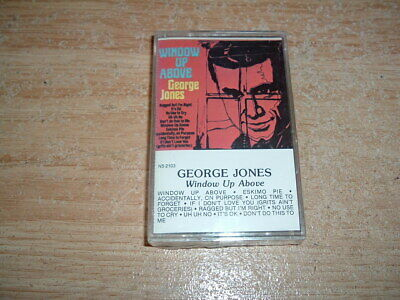 George Jones (Window Up Above) Cassette (New And Sealed)