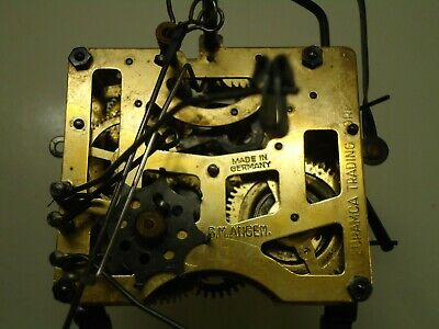 Antique G. M. Angem  Cuckoo Clock Movement.