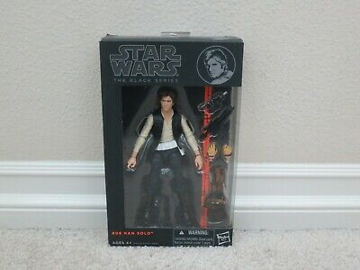 "Brand New Star Wars 6"" Black Series Orange Line Han Solo #08"