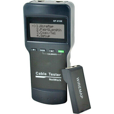 NF8108 DOSS Rj45 LAN Cable Tester Length Faults Locator Measure Network Cable