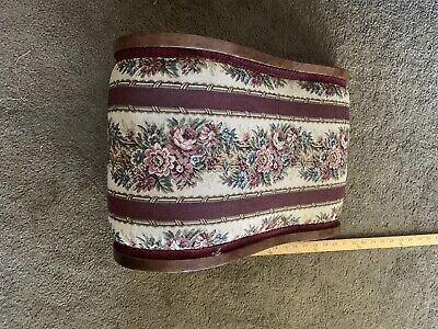 Vintage~Antique~Vintage~ Foot~Gout~ Stool~Ottoman~Walnut~Pre-1900's~