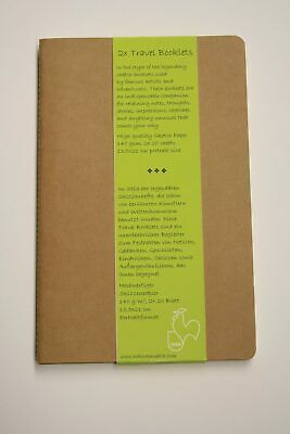 Hahnemuhle Travel Booklet 9 x 14cm Portrait Pack of 2
