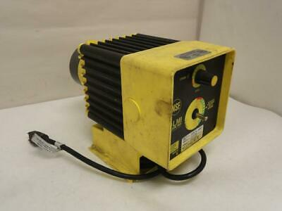 168909 Used, Milton Roy C101-94S Chemical Metering Pump 120Vac 1.30 GPH, 300Psi