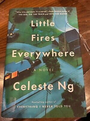 New Little Fires Everywhere by Celeste Ng (2017, Hardcover)