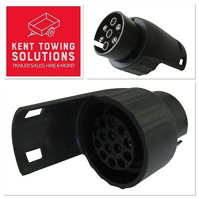 Towing Electrics Adapter 7 Pin Socket to 13 Pin - Suits Ifor Williams Trailers